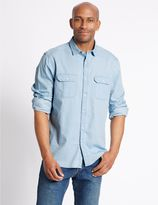 Marks and Spencer Denim Shirt with Pockets
