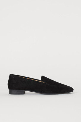 H&M Suede Loafers - Black