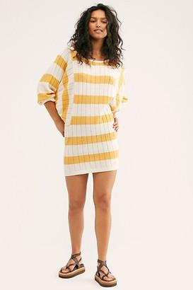 Fp Beach Mauna Kea Sweater Mini Dress