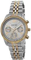August Steiner Women's AS8103TTG Swiss Quartz Gold-tone Stainless Steel Bracelet Watch