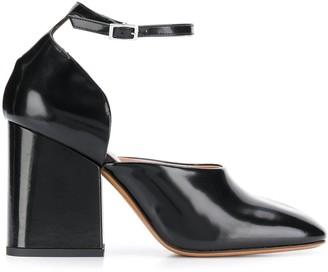 Marni Mary Jane block heel pumps