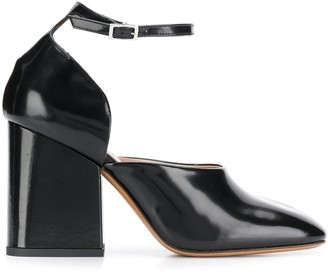 Marni Mary Jane block heel pumps