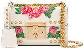 Gucci Padlock embroidered mini bag