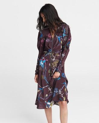 Rag & Bone Rainier printed midi dress