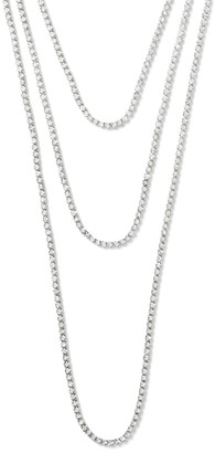 Banana Republic Classic Rebel Cup Chain Layer Necklace