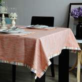L&QQ home L&QQ Tale cloth faric modern and simple fresh and solid-colored linen tale cloth talecloth can e customized