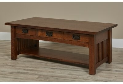 Millwood Pines Montero Coffee Table With Storage Shopstyle