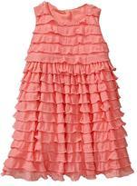 Gap Empire ruffle dress
