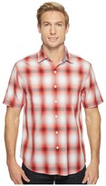 Tommy Bahama Plaid For You Camp Shirt Men's Clothing