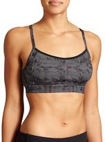 Athleta Dot Maze Comfort Zone Bra