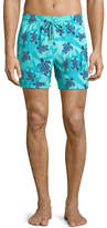 Vilebrequin Moorea Starlettes Turtles Swim Trunks