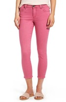 KUT from the Kloth Women's Connie Frayed Hem Crop Skinny Jeans