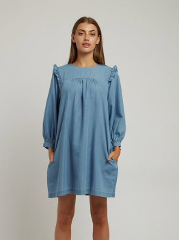 Louche Elly Chambray Dress - 8