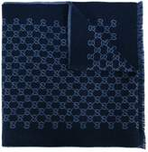Gucci GG Supreme pattern scarf
