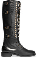 Rene Caovilla Embellished leather boots
