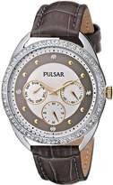 Pulsar Women's PP6181 Analog Display Japanese Quartz Watch