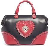 Love Moschino Large Heart Stud Satchel