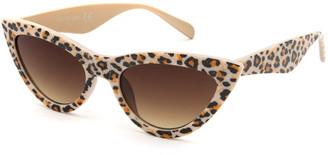 Tillys Cheetah Cat Eye Kids Sunglasses