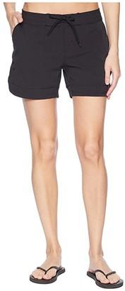 Prana Ebelie Boardshorts (Black) Women's Swimwear