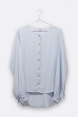 LOVE kidswear - Pia Blouse In Light Blue Tencel For Women - L