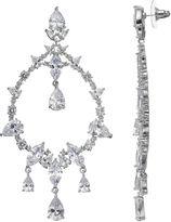 JLO by Jennifer Lopez Red Carpet Ready Cubic Zirconia Chandelier Earrings