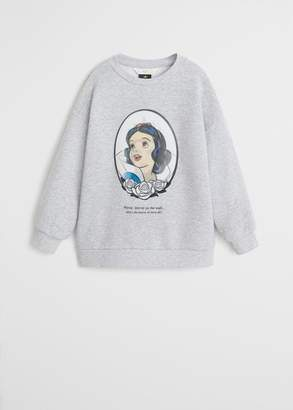 MANGO Disney mirror sweatshirt