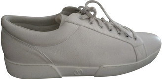 Louis Vuitton Clipper White Leather Trainers