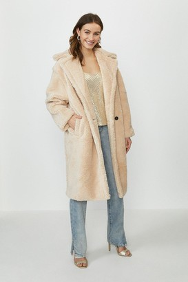 Coast Maxi Teddy Faux Fur Coat