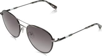 LACOSTE EYEWEAR Men's L102SND 5319 (033) GUNMETAL Sunglasses