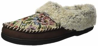 Dearfoams Women's Microsuede Moc Toe Clog Slipper