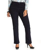 Style&Co. Style & Co. Plus Size Tummy Control Bootcut Jeans, Rinse Wash