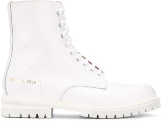 Common Projects Lace-Up Combat Boots