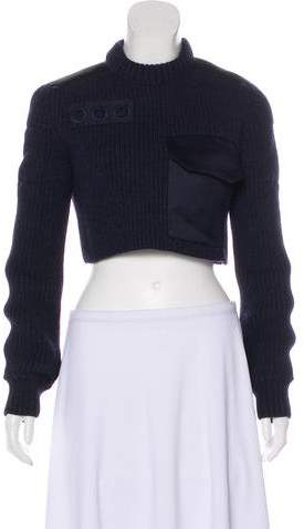 Marc Jacobs Cropped Wool Sweater