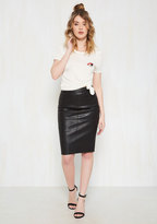 ModCloth Edge Your Bets Pencil Skirt in S