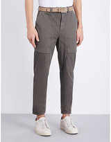 Brunello Cucinelli Regular-fit Cotton Trousers