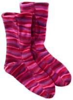 L.L. Bean Adults' Bean's Fleece Socks