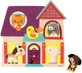 Janod Musical Puzzle - My Little Friends Puzzle