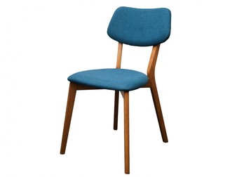Fox Imports Jelly Bean Dining Chair Teal