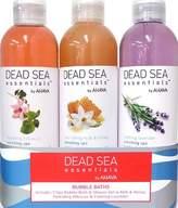 Dead Sea Essentials by Ahava 3 Piece Bubble Bath Trio, 3.8 Fluid Ounce