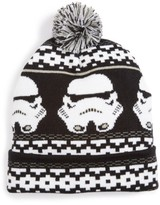 Star Wars Boy's Nolan Glove TM) Stormtrooper Pompom Beanie - Black