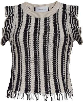 Eleven Paris Six Miranda Tank - Black & Bone Stripe