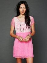 Aztec Chiffon Dress