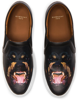 Givenchy Printed Street Skate Leather Sneakers