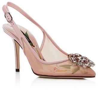 Dolce & Gabbana Women's High-Heel Slingback Pumps