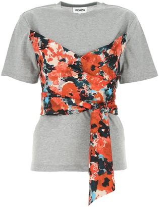Kenzo Aquarelle Bustier T-Shirt