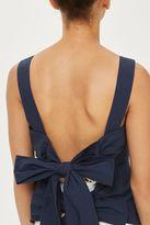 Topshop Tie back camisole top