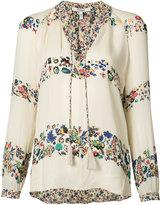 Derek Lam 10 Crosby floral blouse - women - Silk - 0