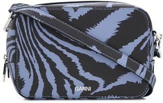 Ganni Zebra Print Mini Bag