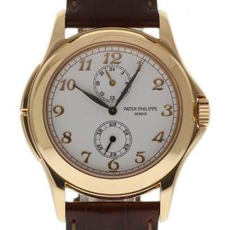 Patek Philippe Calatrava White Pink gold Watches