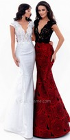 Tarik Ediz Ola Evening Dress